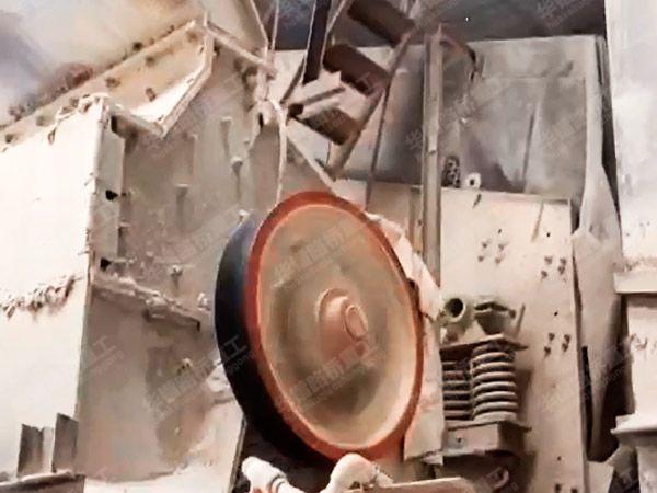 机制砂设备生产现场