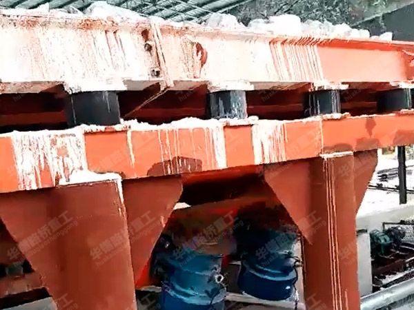 洗矿及粉磨设备生产现场